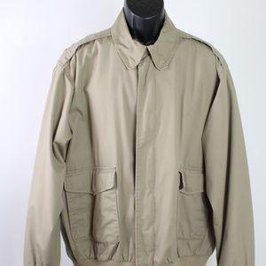 Orvis tan weatherbreaker jacket lightweight tan